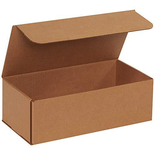 "Price comparison product image BOX USA BM1264K Corrugated Mailers,  12"" x 6"" x 4"",  Kraft (Pack of 50)"