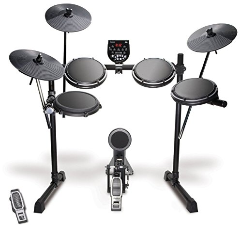 Alesis DM6 USB Kit | Eight-Piece Compact Beginner Electronic Drum Set with 8 Snare, 8 Toms, & 12 Cymbals