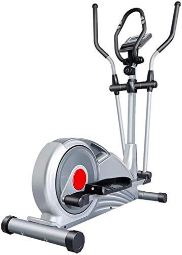 Crosstrainer Elliptische trainer met LCD-scherm Thuiskantoor Fitness Workout Machine Magnetische cardiotraining 121x63x162cm(Upgrade)