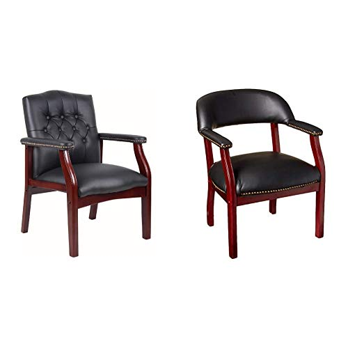 Boss Office Products Ivy League Executive Guest Chair in...