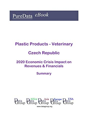 Plastic Products - Veterinary Czech Republic Summary: 2020 Economic Crisis Impact on Revenues & Financials (English Edition)