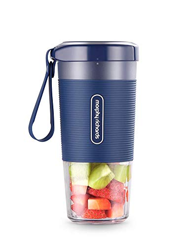 Purchase Mini Portable Rechargeable Juicer Blender, PCGT Cup Material, Two Leaf Blade, Suitable for ...