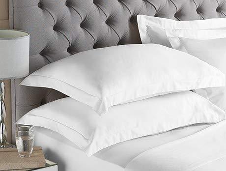 Fundas De Almohada 90 Cm Blancas  Marca Comfort Beddings