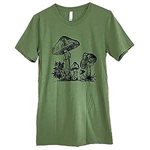 Friendly Oak Unisex Mushroom Collection T-Shirt