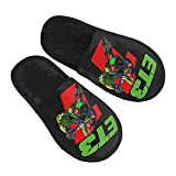 BIEsdnL Eli Tomac 3 Women's Comfort House Cute Slippers Cozy Warm Bedroom Shoes Furry Slip On Slippers Indoor Outdoor Non Slip Casual Flat Slides Sandals