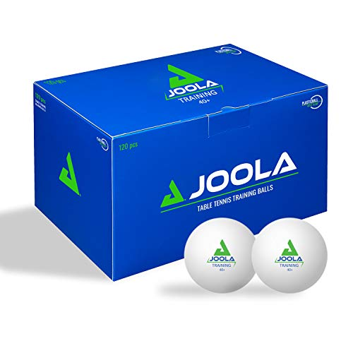 Training SH 120 - Pelotas de Tenis de Mesa, Color Blanco
