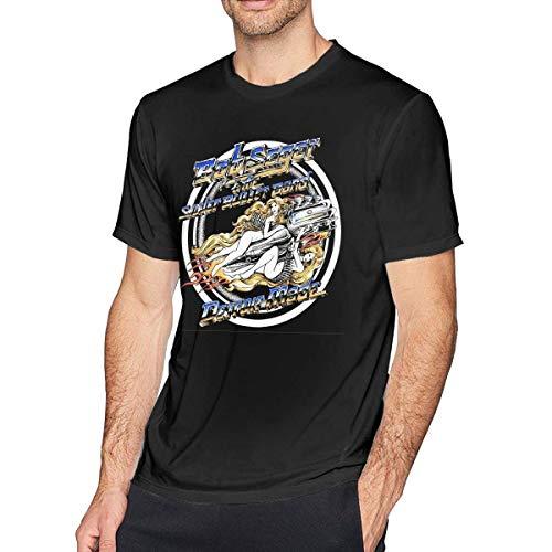 SASJOD Herren Kurzarmhemd Mens Particular Sorry I Cant My Sims Family Needs Me T Shirt Black