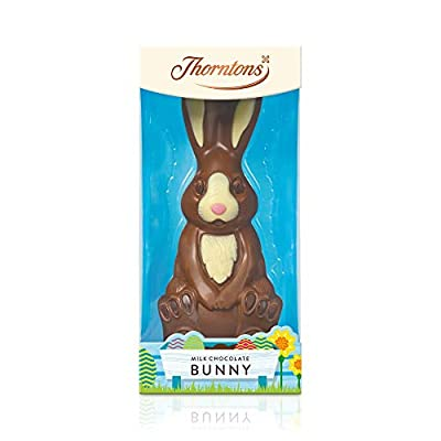 thorntons harry hopalot milk chocolate easter bunny figure 200g Thorntons Harry Hopalot Milk Chocolate Easter Bunny Figure 200G 41nEjTDE eL