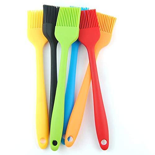 TOCYORIC Pincel Cocina Cepillo de Silicona para Repostería, Cepillo para Cocinar Pasteles...