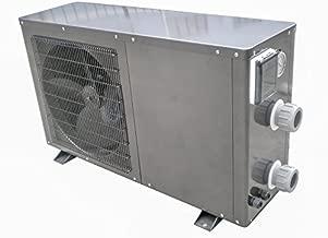 FibroHeat swimming pool heat pump 55 K Btu/hr Titanium