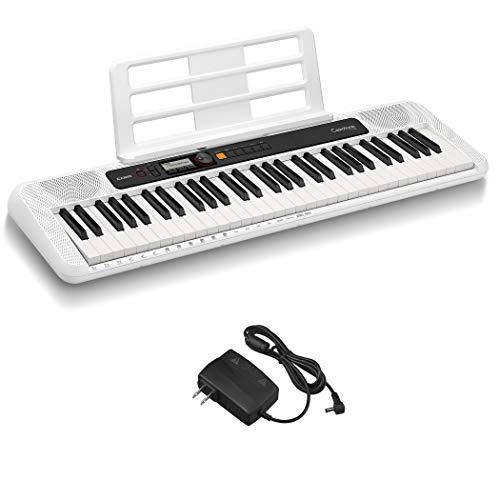 カシオ(CASIO)電子キーボード Casiotone CT-S200WE(ホワイト) 61鍵盤 軽量&コンパクト 持ち運びしやすくPOPなデザイン ダンスミュージックモード