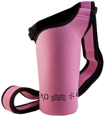 H2O4K9 ステンレス水筒 スリング ピンク