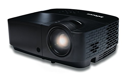 InFocus IN128HDx 16:9  Full HD  3D DLP-Projektor Beamer (1080p, HDMI, 4200 ANSI Lumen, 15000:1 Kontrast, LAN / RJ45 Netzanschluss, BrilliantColor)