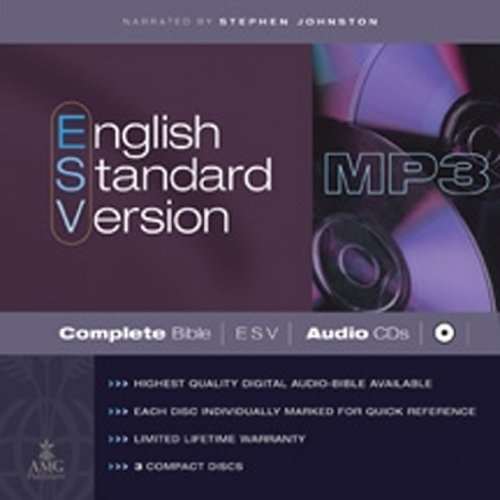 Compare Textbook Prices for English Standard Version Complete Bible on MP3 CDs: ESV Edition Unabridged Edition ISBN 9780899577111 by Johnston, Stephen
