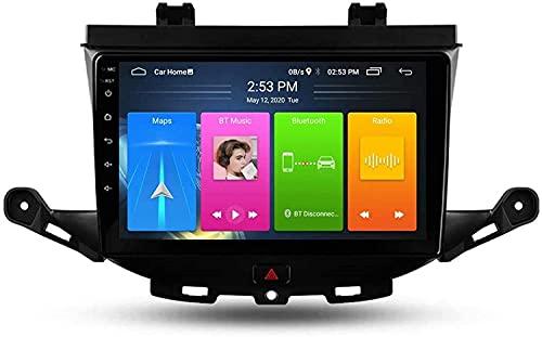 LYHY Navegación De Coche Estéreo con GPS Android 10 Compatible con Opel Astra K 2015-2019, con Pantalla De 9 Pulgadas, Soporte DSP Multimedia/Control del Volante/Enlace Espejo/Radio FM RDS