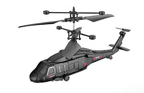 RC TECNIC Helicóptero Teledirigido Militar 3,5 Canales Interior 2,4 GHz Control Remoto | Fácil de Volar y Muy Resistente a Impactos, Helicópteros Teledirigido Combate Guerra