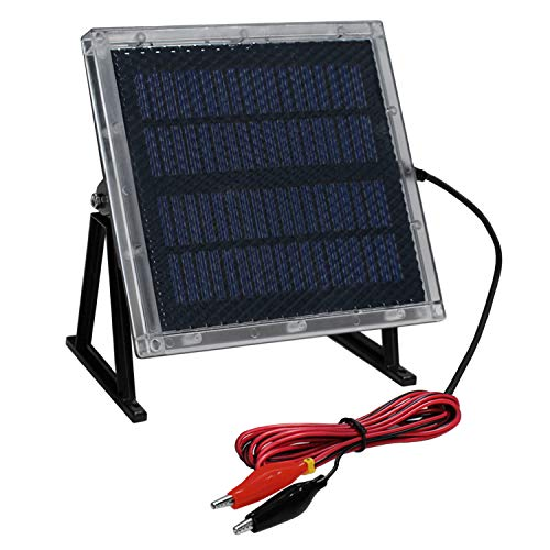 12 Volt Waterproof Solar Sealed Lead Acid Battery Charger UV87511