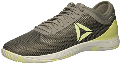Reebok Men's CROSSFIT Cross Trainer, Tin Greyshark//Lemon Zest, 10.5 M US