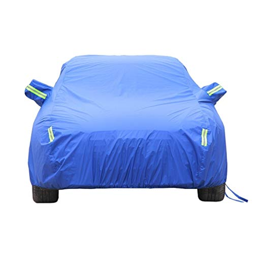 DUWEN Compatible with Ferrari 599 GTB Fiorano Car Cover All Weather Outdoor Universal Breathable Waterproof Auto Cover Dust Proof Anti-UV Sun Auto Protector Cover