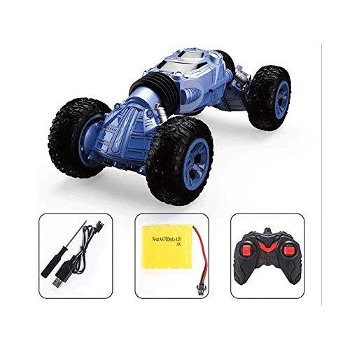 Ferngesteuertes Autospielzeug im Maßstab 1:12 Großes Stunt-RC-Auto Hochgeschwindigkeits-Offroad-Fernbedienungsautos mit großem Fuß Doppelseitige Verformung Verdrehtes Buggy-Kletterauto für jedes Gelä