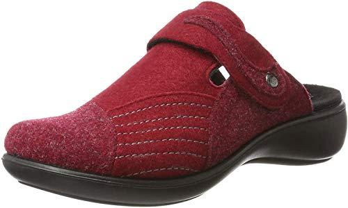 Romika Damen Ibiza Home 306 Pantoffeln, Rot (Rot 400), 39 EU