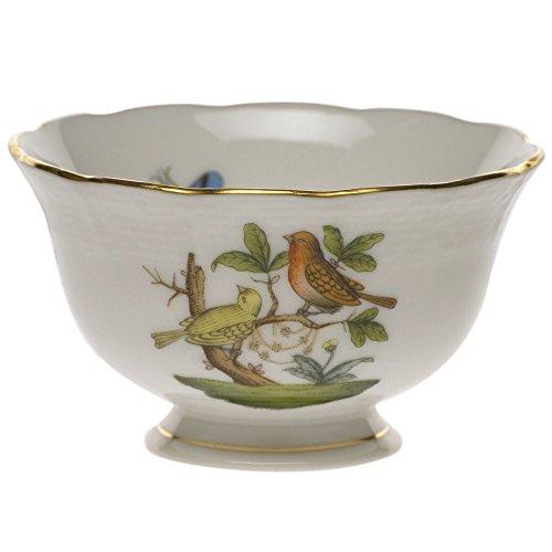 Herend Rothschild Bird Open Sugar Bowl by Herend