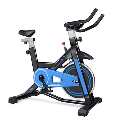 the teapot company Inicio Bicicleta estática es Tranquilo, cómodo cojín y Racing reposabrazos de diseño, de Aluminio de Bicicletas, Gimnasio Ejercicio aeróbico