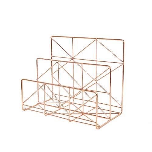 YUJIE Sujetalibros,Sujetalibros para Trabajo Pesado Soportes De Metal para Soportes De Estantes Diseño Geométrico único De RooLee