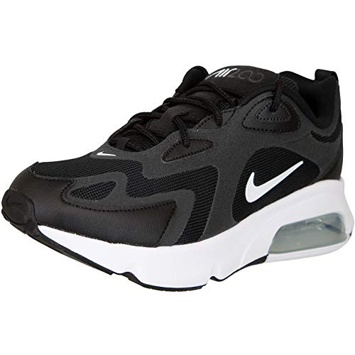 Nike Air Max 200 Sneaker Trainer (43 EU, Black/White)