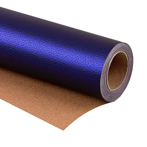 WRAPAHOLIC Wrapping Paper Roll - Classic Blue for Birthday, Holiday, Wedding, Baby Shower Wrap - 30 inch x 16.5 feet