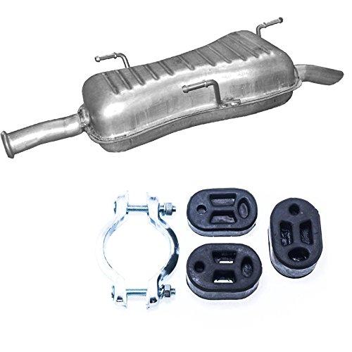 Endschalldämpfer Auspuff Peugeot 306 Limousine, Kombi 1.8/2.0-16V +Montageware