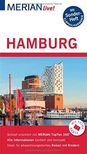 MERIAN live! Reiseführer Hamburg: Mit Extra-Karte zum Herausnehmen