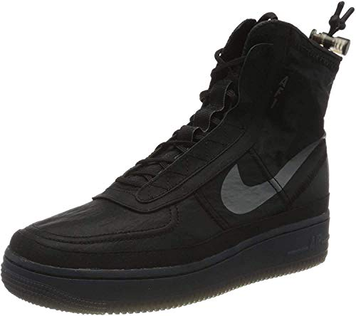 Nike Damen W Af1 Shell Basketballschuh, Black/Dark Grey-Black, 40 EU