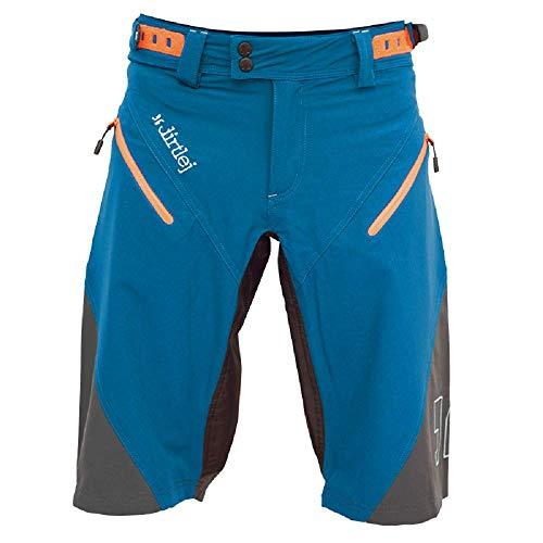 dirtlej trailscout Half & Half Men blau/grau/orange, Shorts Men, Edition 2019 (S)