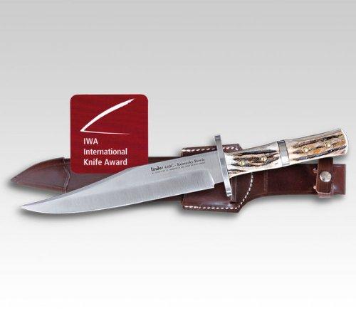 Linder Unisex– Erwachsene Jagdmesser Kentucky Bowie, 440C Rostfrei, mehrfarbig, normal