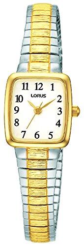 Lorus Watches dameshorloge klassiek analoog kwarts roestvrij staal gecoat RPH58AX9