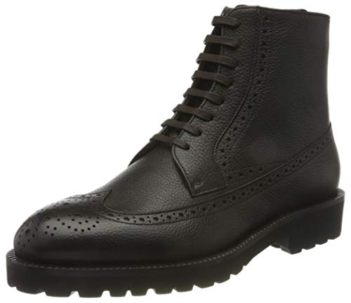 BOSS Herren Edenlug_Halb_grbgw Half Boot, Dark Brown202, 44 EU