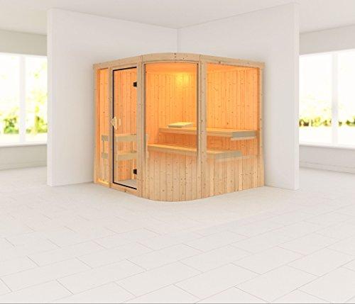 Titania 3 - Karibu Sauna ohne Ofen