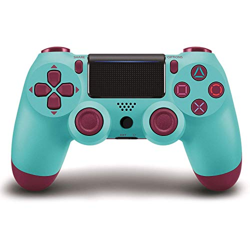 YIGEYI PS4 Controller Wireless Bluetooth Gamepad with Charger Cable for PS4,Touch Panel Joypad with Dual Vibration,Compatible with All PS4 Models & PCfor Playstation 4