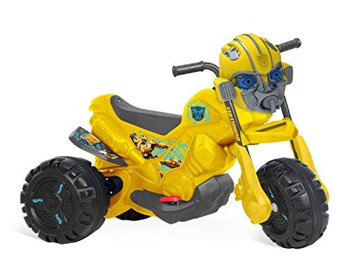 Moto Transformers Elétrica 6V Bandeirante Amarelo