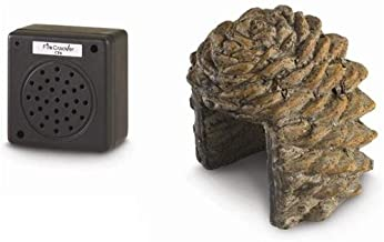 Peterson Real Fyre Pine Cone Crackler Complete with Cover
