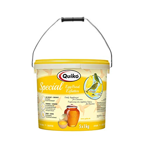 Quiko Special Eifutter 5000 g (5 x 1kg) -Eifutter für Kanarien & Positurkanarien