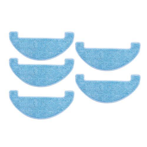 REFURBISHHOUSE 5 Teiliger Reinigungs Mop für Reinigungs Kissen für Ilife V80, V8S, X800, X750, X787, X785 Roboter Staubsauger Teil Zubeh?r