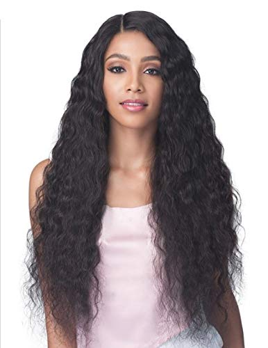 Bobbi Boss Unprocessed Virgin Remy Bundle Hair Full Lace Wig BNGLWNC32 NATURAL CURL 32