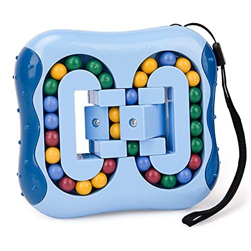 Spiele ab 5 6 7 8 Jahre Jungen Kinder, Spielzeug ab 6 7 8 9 Jährige Junge Zauberwürfel IQ Spiele für 4-9 Jahre Mädchen Junge Stressabbau Spielzeug Intellektuelles Spiel Kinder Geburtstag Geschenk Blau