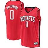MLSON Houston # 0 - Camiseta de baloncesto sin mangas para jóvenes y niños...