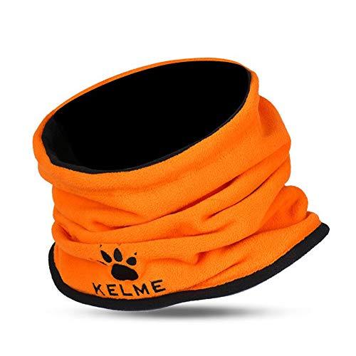 KELME Snicker North Scaldacollo, per Adulti, Unisex, Arancione Neon, Tinta Unita
