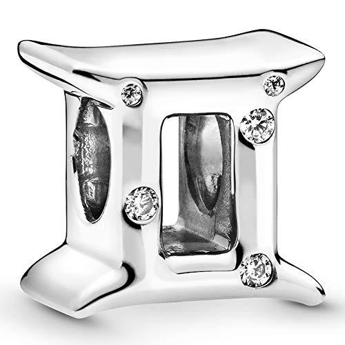 Pandora Jewelry Sparkling Gemini Zodiac Cubic Zirconia Charm in Sterling...
