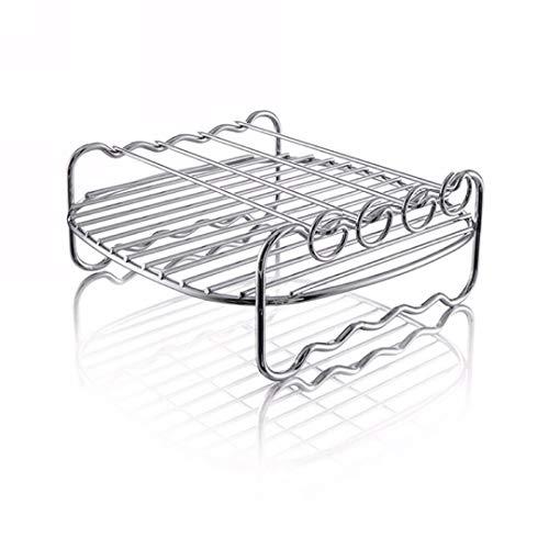 Grillroosters grillaccessoires multifunctionele accessoires voor friteuse keuken roestvrij staal