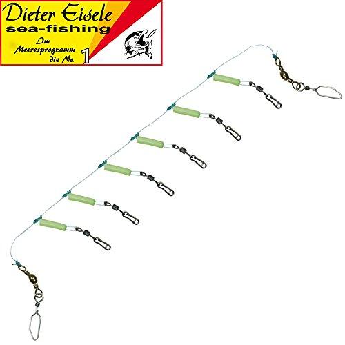 Dieter Eisele Rotbarschsystem, Rotbarschvorfach für Nordsee, Dänemark, Norwegen, Island, Naturködersystem für Rotbarsche